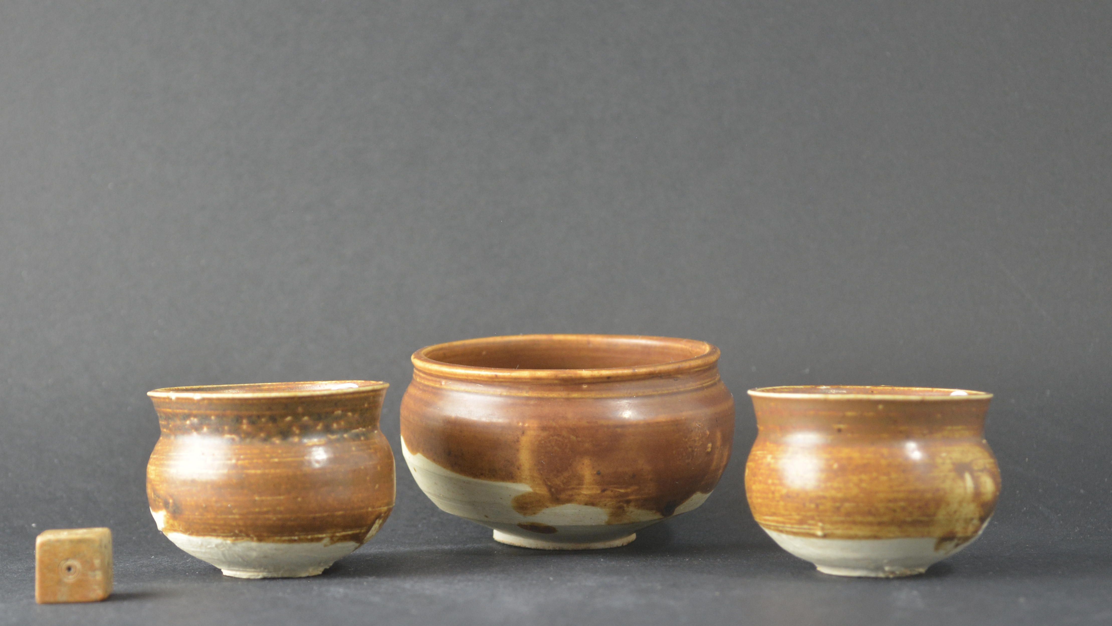 A Group of Song or Jin Russet Glazed Jars from the same Private Collection.