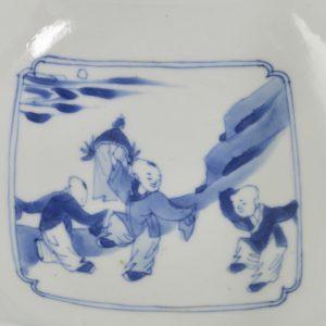 xKangxi Blue and White Porcelain Bowl. Robert McPherson Antiques - 25249