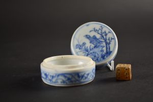 A Transitional Porcelain Box and Cover From The Hatcher Cargo - Robert McPherson Antiques : 25625