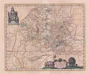 Blaeu Map of China -1655