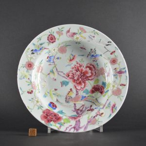 An Unusual 18th Century Chinese Export Porcelain Dish - Robert McPherson Antiques - 25826