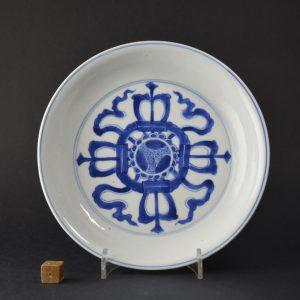 A Kangxi Mark and Period Porcelain dish c.1700