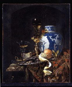 Willem Kalf (1619 – 1693) 'Still Life with a Ming Porcelain Jar' 1669