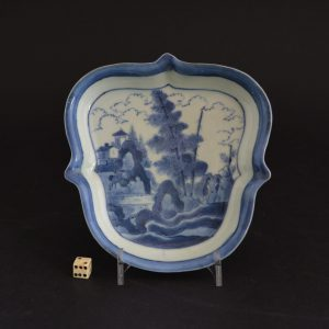 Japanese porcelain dish after Van Frytom