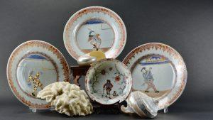 An 18th Century South Sea Bubble Ceramics - Robert McPherson Antiques.