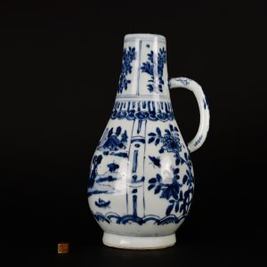 A Rare Transitional Kraak Porcelain Beer Jug - Robert McPherson - 25726