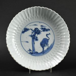 A Wanli Kraak Porcelain Dish - Robert McPherson Antiques - 26144