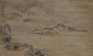 Fujisan Zu - Morikawa Kyoriku Mid-17th Century