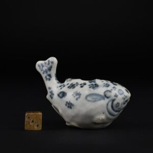 A Rare 15th Century Vietnamese Pottery Water Dropper From the Hoi An Hoard - Robert McPherson Antiques - 26069