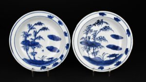 Two Ming Porcelain Dishes Made for the Japanese Tea Ceremony - Robert McPherson Antiques - 26188 and 26189