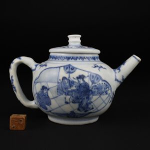 A Fine and Rare Transitional Porcelain Teapot From The Hatcher Cargo - Robert McPherson Antiques - 26031