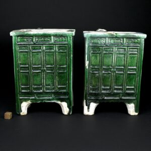 A Pair of 16th Century Ming Pottery Cabinets - Robert McPherson Antiques - 25291