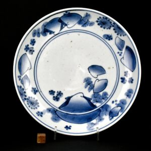 A 17th Century Japanese Blue and White Dish - Robert McPherson Antiques - 25932-4